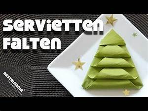 Tannenbaum Falten Anleitung : servietten falten servietten and weihnachtsb ume on pinterest ~ Lizthompson.info Haus und Dekorationen