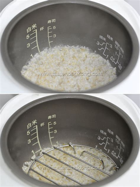 how to steam rice steam fish rice cooker images