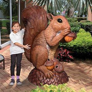 Condiments Cabinet Design Enormous Squirrel Statue The Green Head