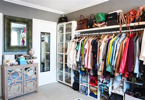 convert spare bedroom into closet song of style the