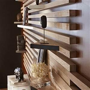 Moulure Bois Mur : tete de lit sans fixation au mur maison design ~ Zukunftsfamilie.com Idées de Décoration