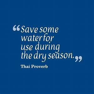 Picture Thai Proverb About Save