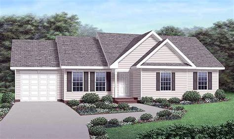 what is a ranch style elevation of ranch traditional house plan 45292 country