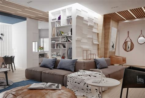 Interesting Light Wood Accents And Furnishings Add Sophistication And Simplicity by Interesting Light Wood Accents And Furnishings Add