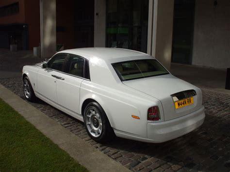 White Rolls Royce Phantom Car Hire