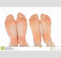 Naked Feet Royalty Free Stock Photography Image