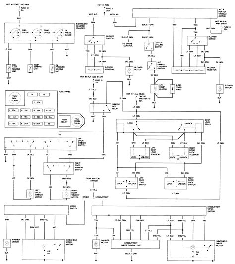 wiring diagram for 1985 dodge power ram 150 custom
