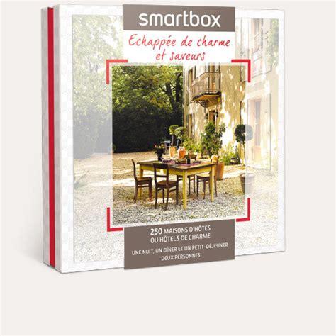 coffret smartbox table et chambre d hote coffret cadeau echappée de charme et saveurs smartbox
