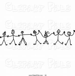 Holding Hands Black And White Clipart - Clipart Suggest