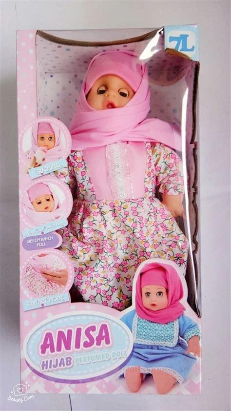 jual mainan anak perempuan boneka anisa mengaji di