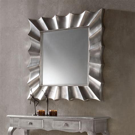 miroir mural argent 233 laqu 233 design mandy