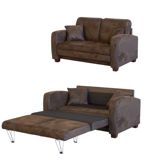 canape cuir 2 places convertible finlandek canap 233 convertible 2 places miska tissu marron