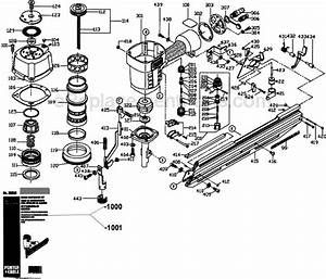 Porter Cable Fc350 Parts List And Diagram