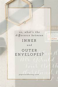 paper honeyblog paper honey With wedding invitations inner and outer envelope etiquette