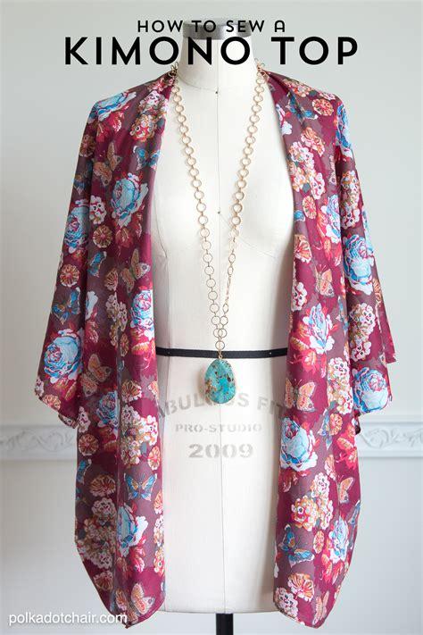 fray scarf how to sew a kimono jacket
