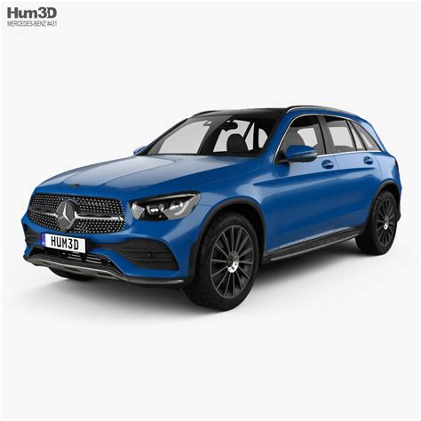 It looks largely the same on the outside, but mercedes made significant changes under the skin, including a more powerful engine and more tech. 3D Mercedes-Benz GLC-class L 2019   CGTrader