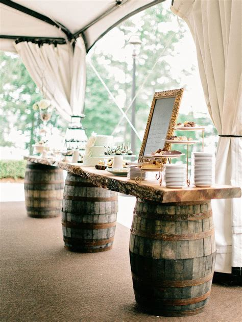 used rustic wedding decor 8 stunning uses for wine barrels