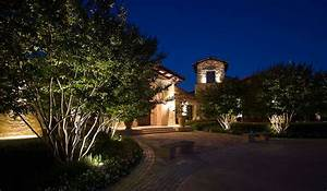 highlighting trees with kichler landscape lighting With outdoor accent lighting for trees