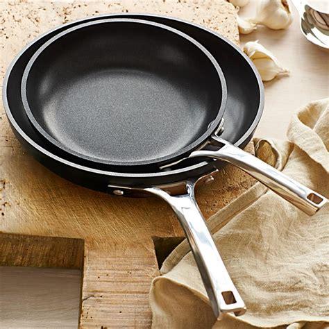calphalon elite nonstick frying pan set