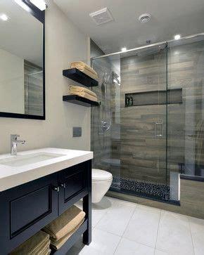 images  wood tile shower  pinterest