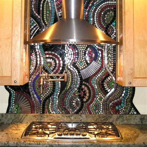 mosaic tile backsplash kitchen ideas beautiful designs of mosaic backsplash decozilla