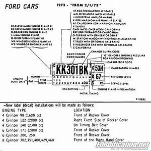 Ford F150 Transmission Identification Codes  89 f150 tranny