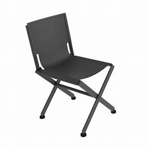 Chaise De Jardin Grise : chaise de jardin m tal zephir mati re grise ~ Teatrodelosmanantiales.com Idées de Décoration