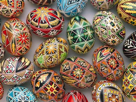 russian easter eggs  images easter egg designs