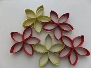 Blumen Basteln Fensterdeko : blumen aus klopapierrollen recycling bastelstunde ~ Markanthonyermac.com Haus und Dekorationen
