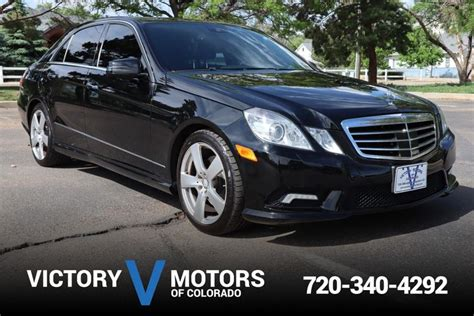 Any chance it's 1986 all over again? 2010 Mercedes-Benz E-Class E 350 Sport 4MATIC | Victory Motors of Colorado