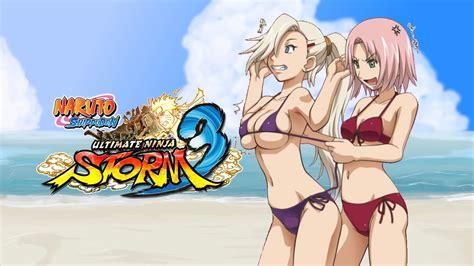 Naruto Sun Storm 3 Sakura Vs Ino Swimsuit Edition Youtube