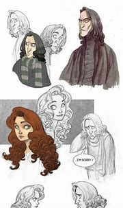 Snape and Lily sketchdump by kyla79 on deviantART | Snape ...