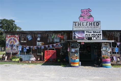 The Shed Barbeque Gulfport Mississippi by Connect With History And In Mississippi