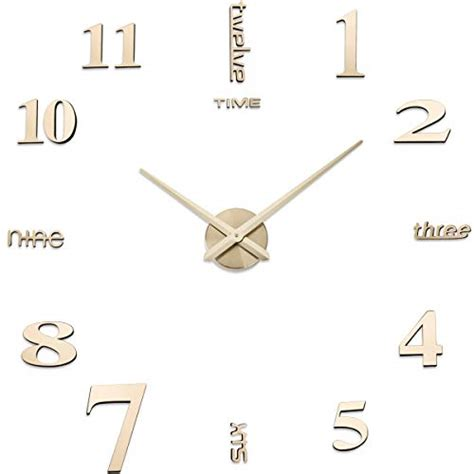 rustic fall autumn flower floral pattern square wall clock