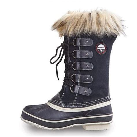 alpinetek womens waterproof winter snow boots sears