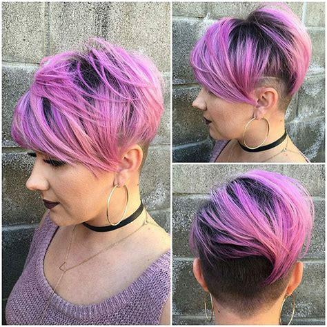 shaved sides haircut female ideas