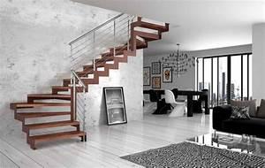 Decoration Interieur Maison Moderne : decoration escalier interieur maison moderne ~ Zukunftsfamilie.com Idées de Décoration