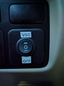 Vsc Off Switch Install