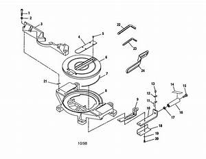 Craftsman 315235360 Miter Saw Parts