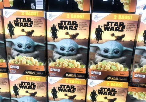 Star Wars The Mandalorian Cereal in stock at Sam's Club!