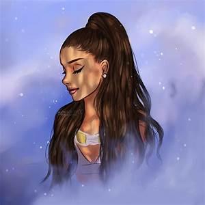 Moonlight Ariana Grande by miloutjexdrawing on DeviantArt