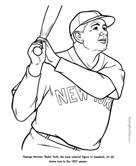 printable baseball coloring sheets baseball