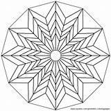 Geometric Mandala Coloring Printable Colouring Tessellation Patterns Malvorlagen Geometrische Adult Mandalas Desenho Escher Desenhos Dimensional Colorir Pintar Flower Pattern Designs sketch template