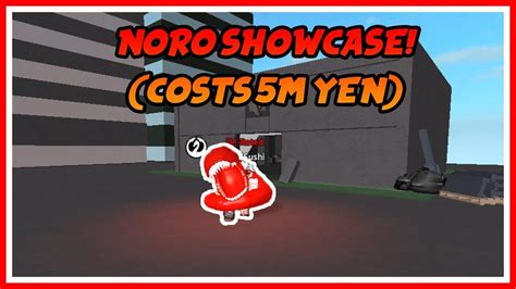 Ro-ghoul Noro Showcase! Abilities [costs 5m Yen] And 550k