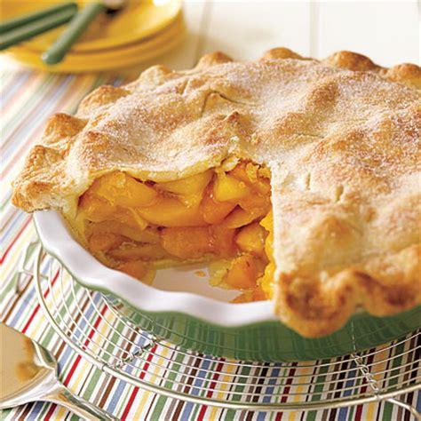 deep dish peach pie recipe myrecipes