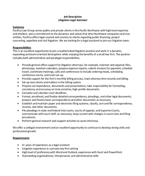 8+ Sample Legal Assistant Job Descriptions  Sample Templates. University Of Florida Acceptance Rate. Need For Special Education Teachers. Elementary Education Online Degrees. Three Credit Score Companies. Metered Dose Inhaler Drugs No Doc Boat Loans. Hotel Union Square In San Francisco. Plastic Septic Tank Installation. American Cancer Research Center Donations