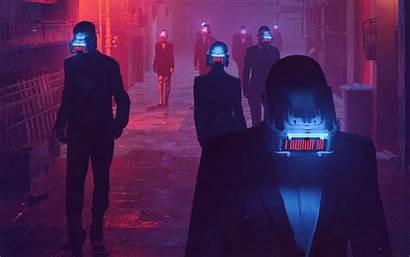Cyberpunk Virtual Reality Street Wallpapers 4k Neon