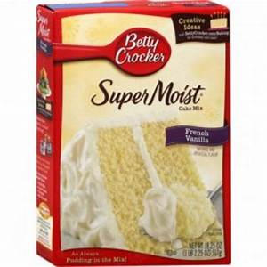 Betty Crocker Super Moist Cake Mix - French Vanilla - Home ...