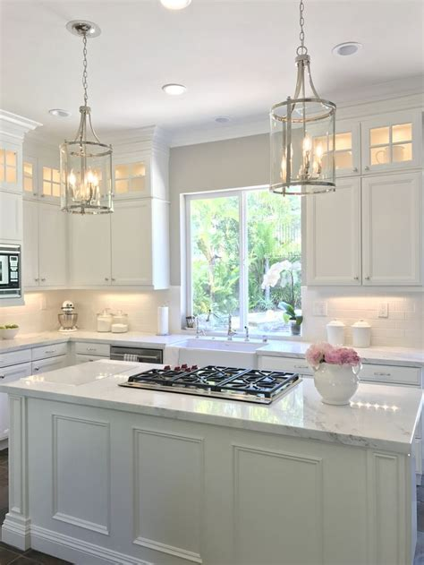 white kitchen  danby marble  subway tile backsplash