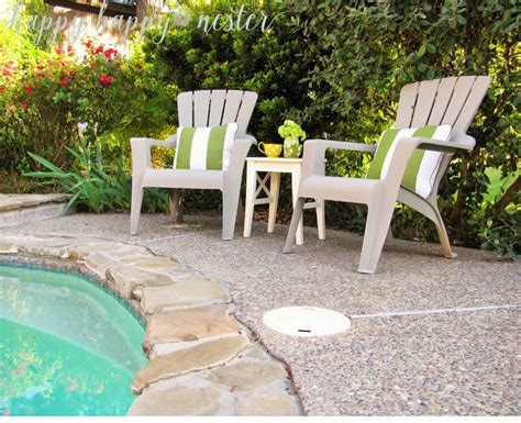 Annie Sloan Chalk Paint And Plastic Outdoor Chairs Happy